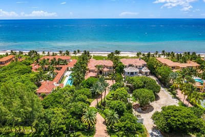 Boynton Beach, Gulf Stream Single Family Home For Sale: 1555 Ocean Boulevard