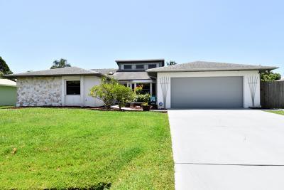 Port Saint Lucie Single Family Home For Sale: 566 SE Ocean Spray Terrace