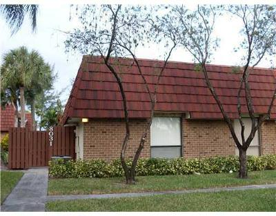 Coral Springs, Parkland, Coconut Creek, Deerfield Beach,  Boca Raton , Margate, Tamarac, Pompano Beach Rental For Rent: 8031 Boca Rio Drive #8031