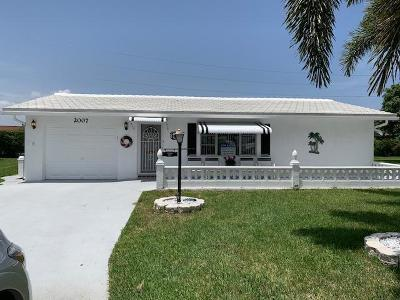Boynton Beach, Gulf Stream Single Family Home For Sale: 2007 SW 16th Avenue