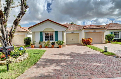 Delray Beach Single Family Home For Sale: 6105 Heliconia Road