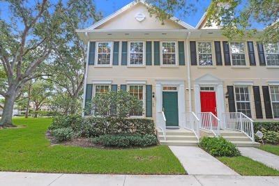 Jupiter Townhouse For Sale: 145 Bermuda Drive