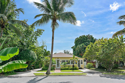 West Palm Beach Single Family Home For Sale: 1512 Florida Avenue