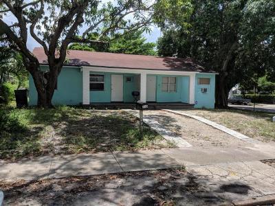 West Palm Beach Rental For Rent: 742 53rd Street