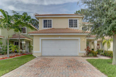 West Palm Beach Single Family Home For Auction: 6384 Adriatic Way