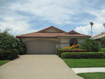 Delray Beach Single Family Home For Sale: 7780 Dundee Lane