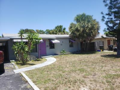 Lake Worth Single Family Home For Sale: 1514 16th Avenue