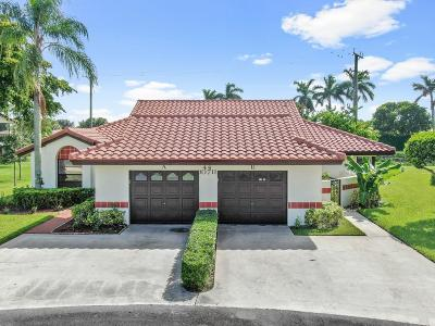 Boynton Beach Single Family Home For Sale: 10711 Palm Leaf Drive #B