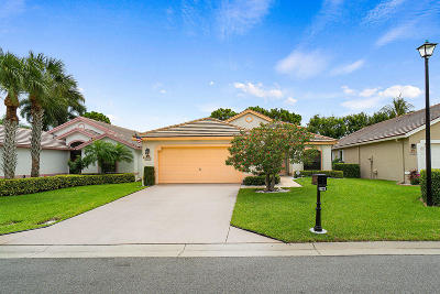 Boynton Beach Single Family Home For Sale: 10273 Lexington Lakes Boulevard S