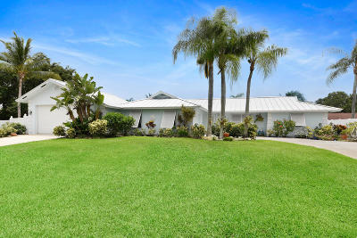 Boynton Beach, Gulf Stream Single Family Home For Sale: 3890 Coelebs Avenue