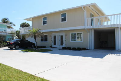 Fort Pierce Multi Family Home For Sale: 1101 S Ocean Drive
