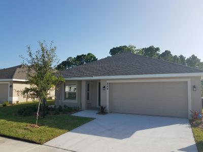 Port Saint Lucie Single Family Home For Sale: 844 NE Whistling Duck Way