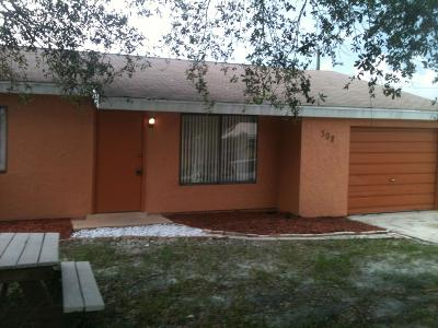 Port Saint Lucie Single Family Home For Sale: 308 NW Airoso Boulevard