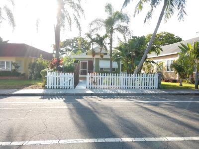 Lake Worth Single Family Home For Sale: 312 L Street E