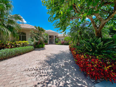 Palm Beach Gardens Single Family Home For Sale: 1016 Grand Isle Terrace