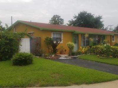 Broward County Single Family Home For Sale: 4101 NW 39th Avenue