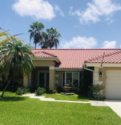 Boca Raton Single Family Home For Sale: 20650 Bay Brooke Court