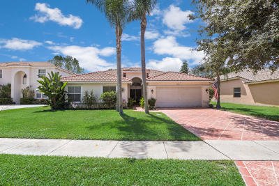 Lake Worth Single Family Home For Sale: 5750 La Gorce Circle