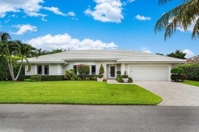 Boca Raton Single Family Home For Sale: 2177 Areca Palm Road