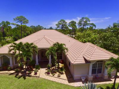Loxahatchee Single Family Home For Sale: 8180 Mandarin Boulevard