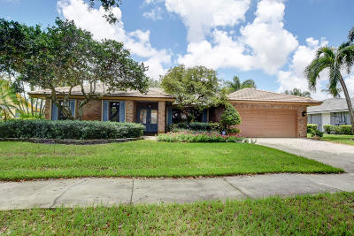 Boca Raton Single Family Home For Sale: 3489 Pine Haven Circle