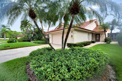 West Palm Beach Single Family Home For Sale: 2865 Iroquois Cir Circle