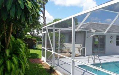 Palm Beach Gardens Rental For Rent: 4235 Hickory Drive
