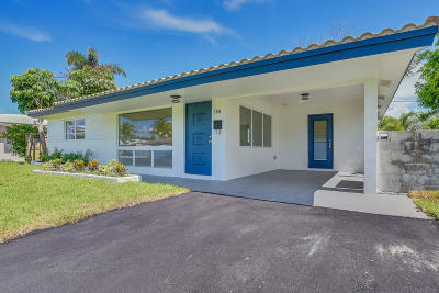 Pompano Beach Single Family Home For Sale: 150 SE 4 Court