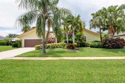 Delray Beach Single Family Home For Sale: 16801 Rose Apple Drive