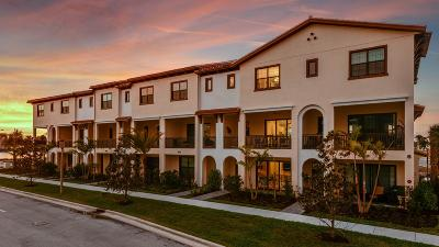 Palm Beach Gardens Townhouse For Sale: 12748 Machiavelli Way