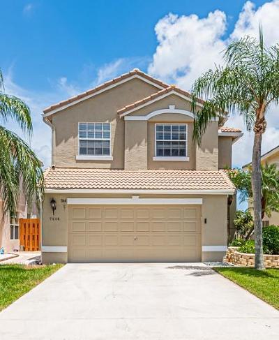Lake Worth Single Family Home For Sale: 7144 Crawl Key Way