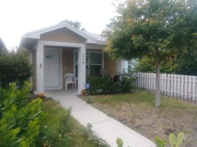 Lake Worth Single Family Home For Sale: 209 S E Street