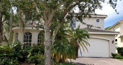Boynton Beach Single Family Home Contingent: 11266 Millpond Greens Drive