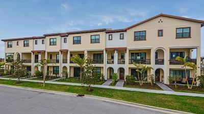 Palm Beach Gardens Townhouse For Sale: 12744 Machiavelli Way