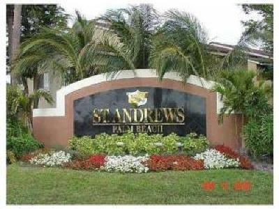 West Palm Beach Condo For Sale: 1007 Lake Terry Drive #B