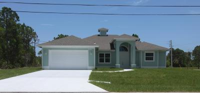 Port Saint Lucie Single Family Home For Sale: 5451 NW Crisona Circle