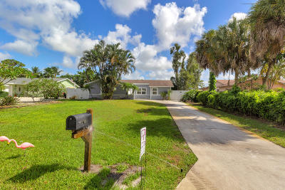 Delray Beach Single Family Home For Sale: 5107 Woodland Drive