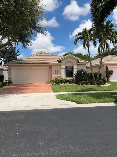 Boynton Beach Single Family Home For Sale: 12851 Coral Lakes Drive