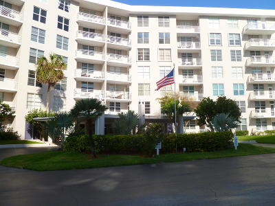 Boca Raton Condo Contingent: 2851 S Ocean Boulevard #7 N