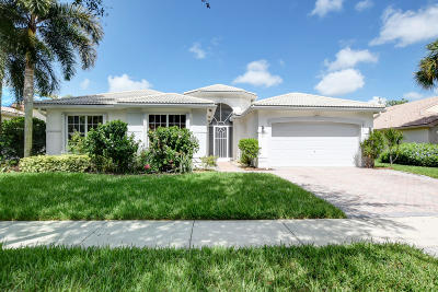 Boynton Beach Single Family Home For Sale: 6826 Fiji Circle