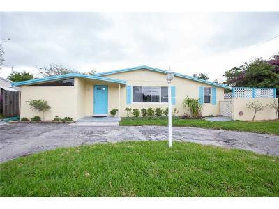 Pompano Beach Single Family Home For Sale: 251 NE 21st Street