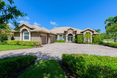 St Lucie County Single Family Home For Sale: 3016 Bent Pine Drive