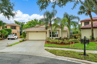 Boca Raton Single Family Home For Sale: 10633 Mendocino Lane