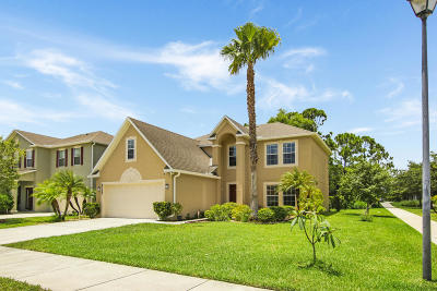 Port Saint Lucie Single Family Home For Sale: 5117 NW Wisk Fern Circle
