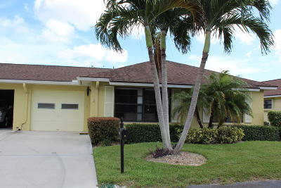 Boynton Beach Single Family Home For Sale: 9800 Tabebuia Tree Drive #B