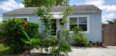 West Palm Beach Single Family Home For Sale: 720 Rockland Drive