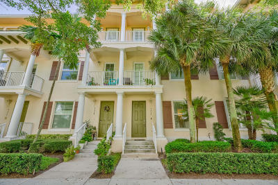Jupiter Townhouse For Sale: 4332 Blowing Point Place