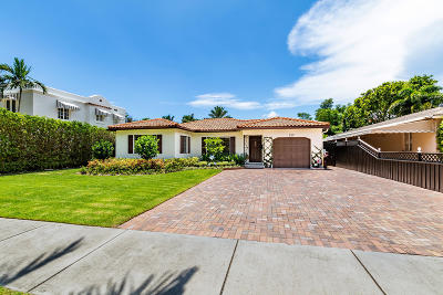 West Palm Beach Single Family Home For Sale: 220 Sunset Road