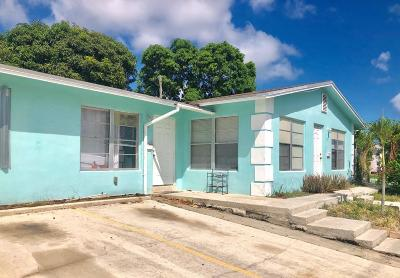 West Palm Beach Multi Family Home For Sale: 4510 Parker Avenue #1