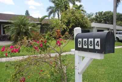 Boca Raton Single Family Home For Sale: 9884 Liberty Court